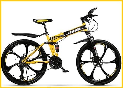 Mountain bike pieghevole
