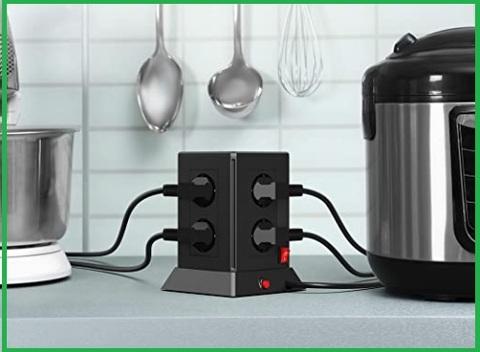 Multipresa cucina verticale