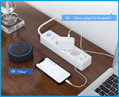 Multipresa smart wifi