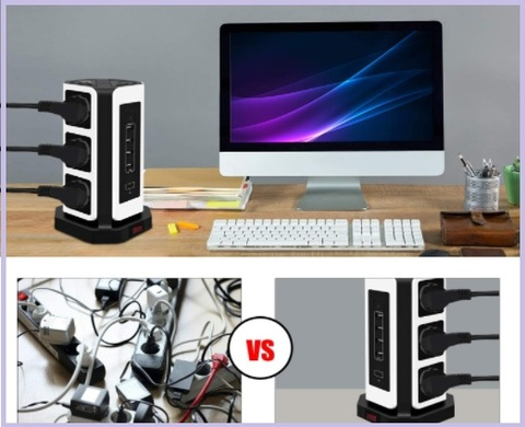 Multipresa verticale smart