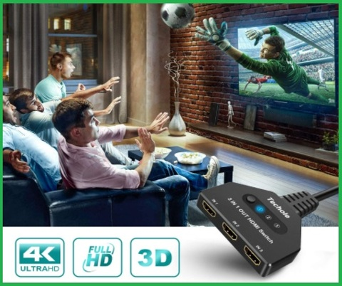 Multipresa hdmi per tv