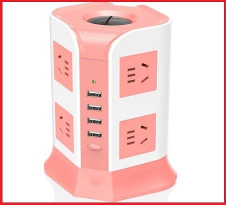 Multipresa rosa tower