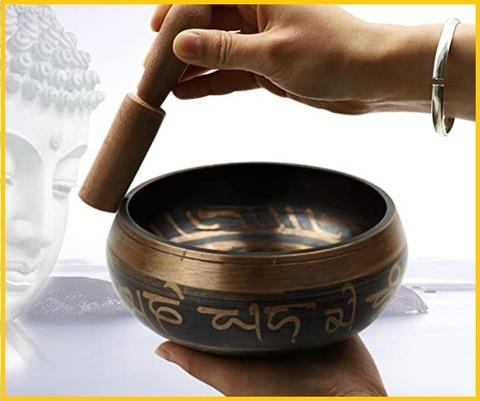 Musicoterapia strumenti campana tibetana