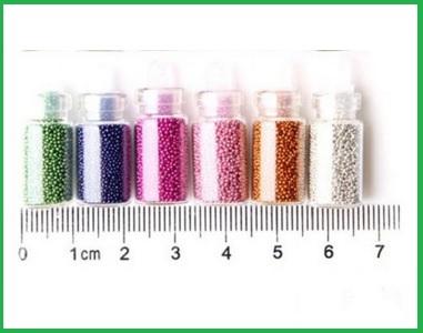 Glitter decorazioni colorate per unghie