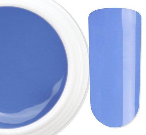 Unghie Colorate Blu Finte