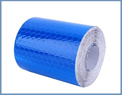 Nastro adesivo riflettente blu
