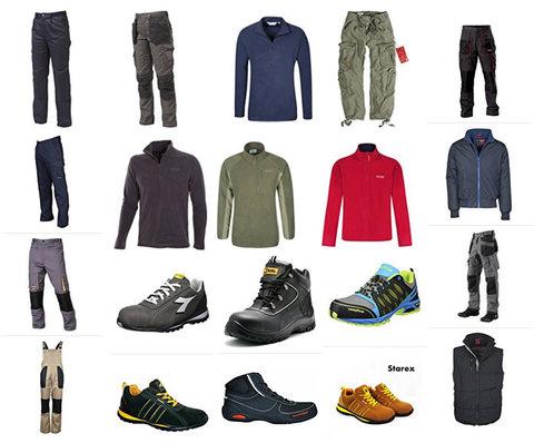 Abbigliamento Da Lavoro, Scarpe, Camici, Antinfortunistica