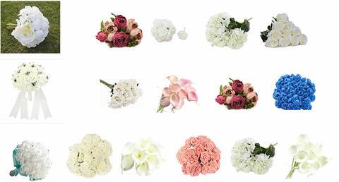 Bouquet Sposa, Composizioni Con Fiori Sintetici