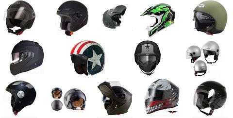 Caschi Per Moto, Scooter E Bici
