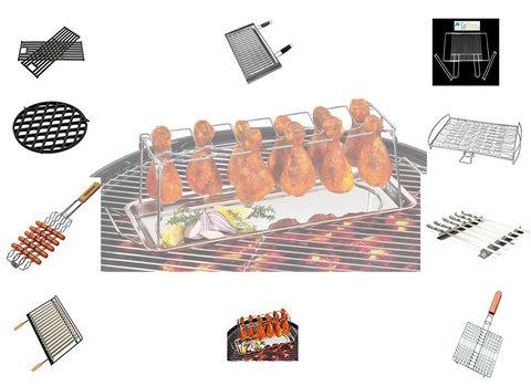Griglie Per Barbecue: Rotonde, Su Misura, Guida All'acquisto