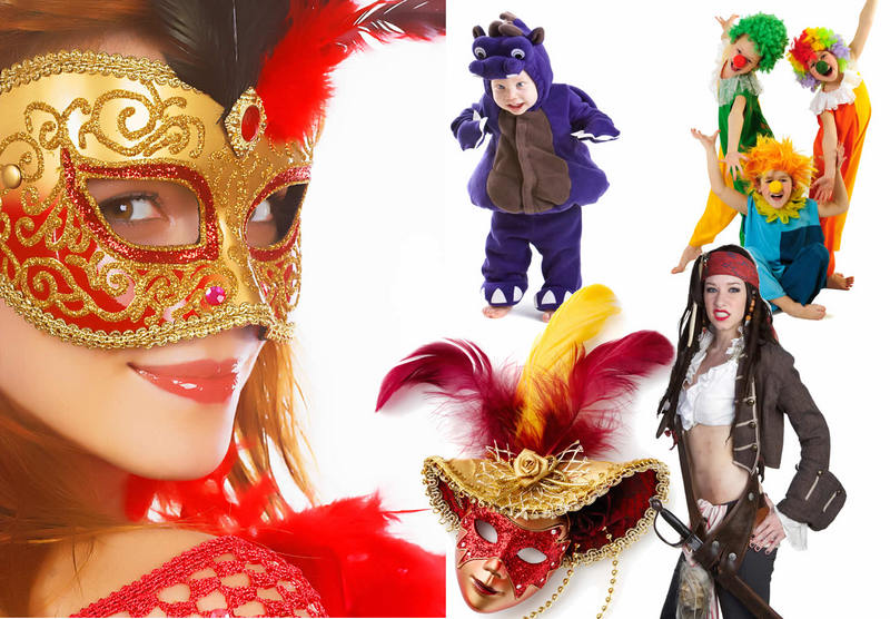 Vendita di Costumi di Carnevale, Halloween, Parrucche, Maschere, Cappelli, Makeup, Effetti speciali, Giochi di prestigio, Giocoleria. Siamo a Torino, ma spediamo in.