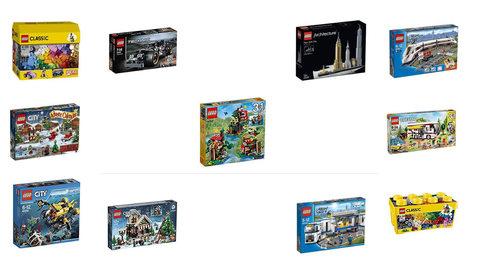 Giochi Mattoncini Lego