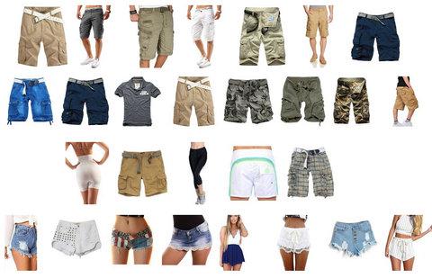 Pantaloncini Per Uomo E Donna