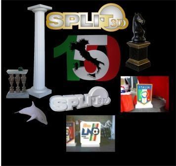 Split 3d