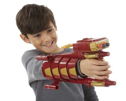 Nerf armatura pistola iron man