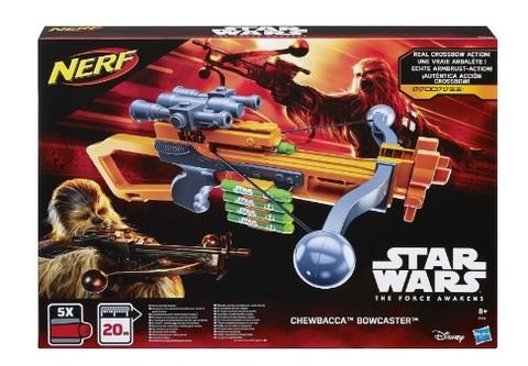 Fucile nerf per bambini di star wars chewbacca