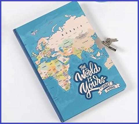 Diario con lucchetto segreto per bambine