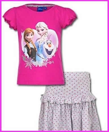 Completo maglia e leggings di frozen