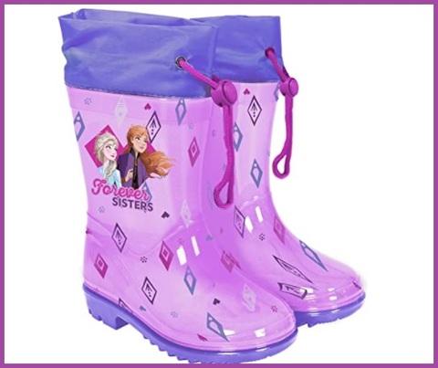 Stivaletti pioggia frozen per bambine