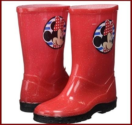Stivali di minnie colorati e rossi