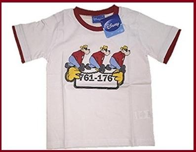 T shirt banda bassotti per bimbo