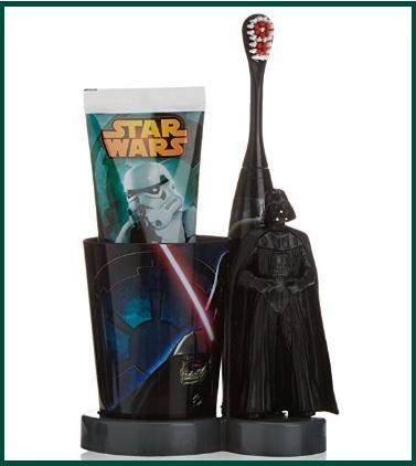 Completo spazzolino e dentifricio star wars