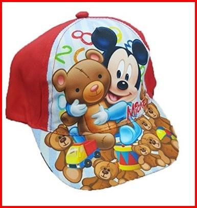Cappellino estivo colorato di topolino