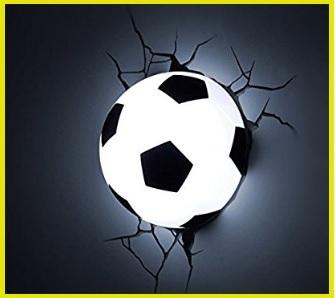 Lampada da muro sport calcio