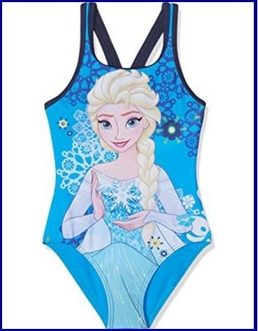 Costume da bagno da bambini intero di frozen