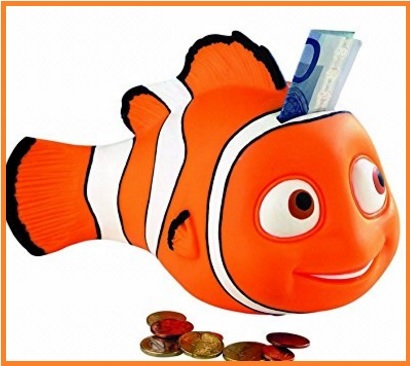 Salvadanaio Nemo Della Walt Disney Per Bambini