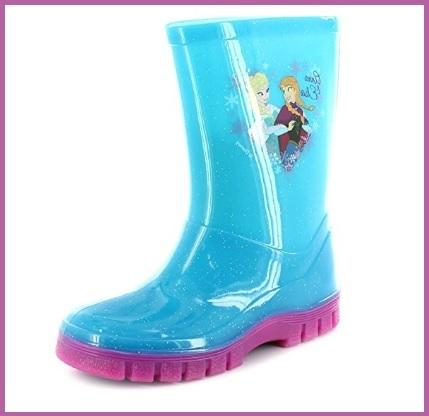 Stivali In Gomma Per Bambine Di Frozen