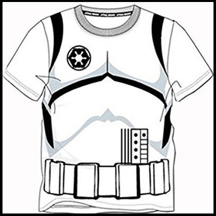 Star Wars Disney Stormtrooper T Shirt