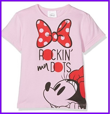 T Shirt Bambina Di Minnie Disney