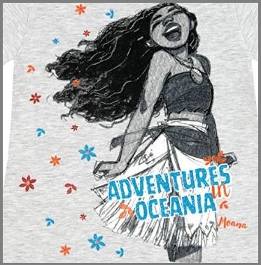 Maglietta A Maniche Corte Disney Oceania