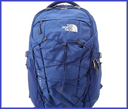 North face zaino blu