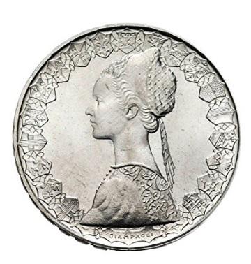 Moneta 500 lire argento varie annate
