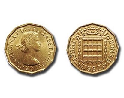 Monete da collezione penny originale