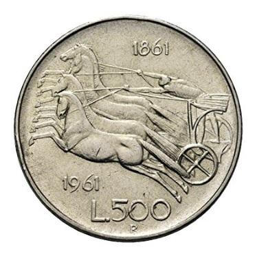 Centenario dell'unità d'italia moneta 1961
