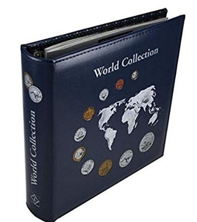 Album numismatico per monete da collezione