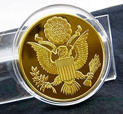 Moneta da collezione stati uniti america oro