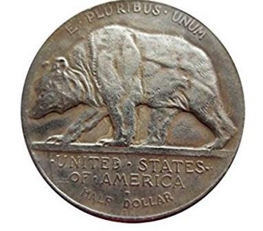 Moneta da collezione california stati uniti