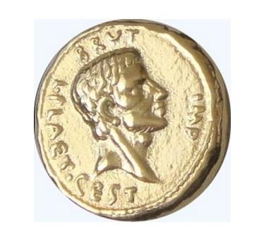 Moneta impero romano brutus cesaricidio