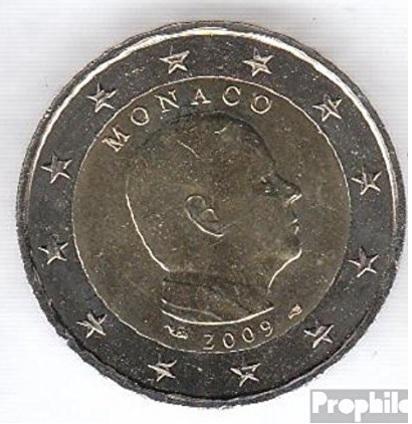 Moneta da collezione 2 euro 2009 monaco