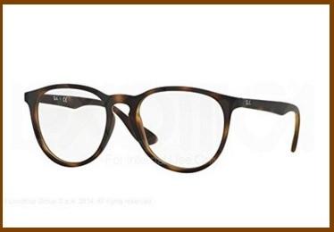 Montature ray ban maculati occhiali da vista donna