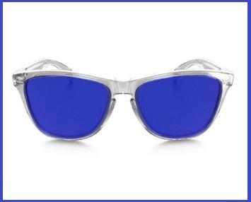 occhiali oakley lenti blu
