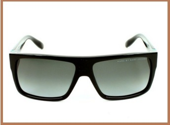 Occhiali da sole rettangolari marc by marc jacobs