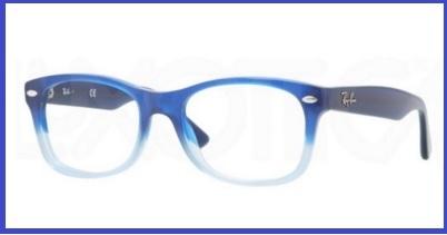 montature occhiali da vista bambina ray ban