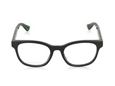 Occhiali da vista con logo gucci rosso e verde
