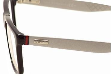 Occhiali da vista bicolore moderno in alluminio