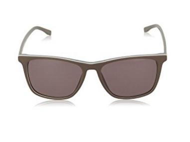Hugo boss occhiali da sole fini e dal colore marrone